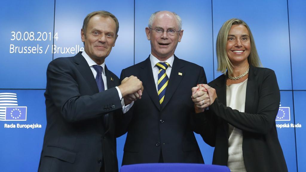 Nominations de Federica Mogherini et de Donald Tusk aux postes de Haute représentante pour les affaires étrangères et de Président du Conseil européen