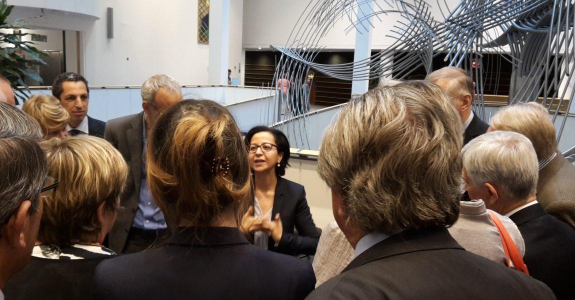 Visite d'une délégation du Comité Régional Nord-Pas-de-Calais des Conseillers du Commerce extérieur de la France