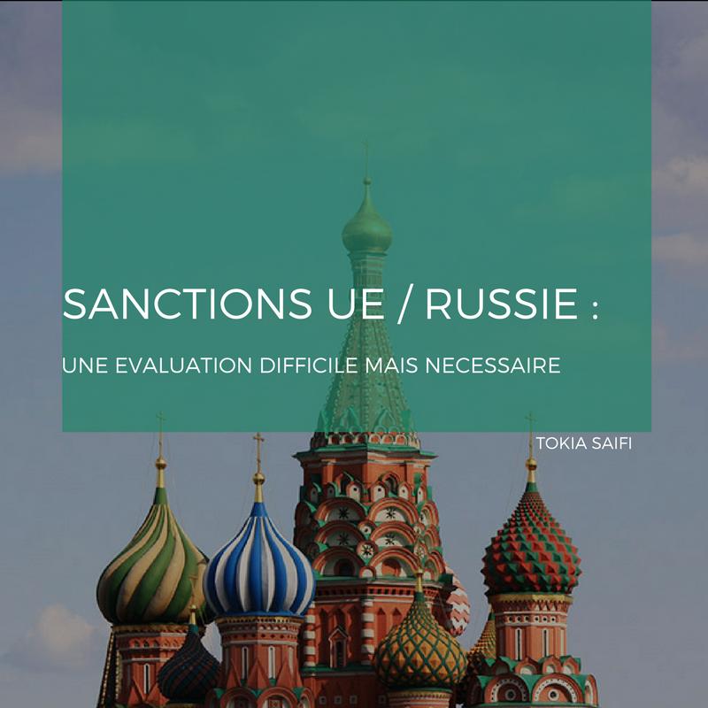 Sanctions UE / Russie : Une évaluation difficile mais nécessaire